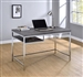 Writing Desk in Weathered Grey Finish by Coaster - 801271