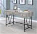 Guthrie Home Office Desk in Grey Driftwood Finish by Coaster - 801549