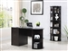 4 Piece Home Office Set in Cappuccino Finish by Coaster - 881071-4