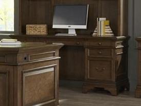 Hartshill Credenza in Burnished Oak Finish by Coaster - 881282