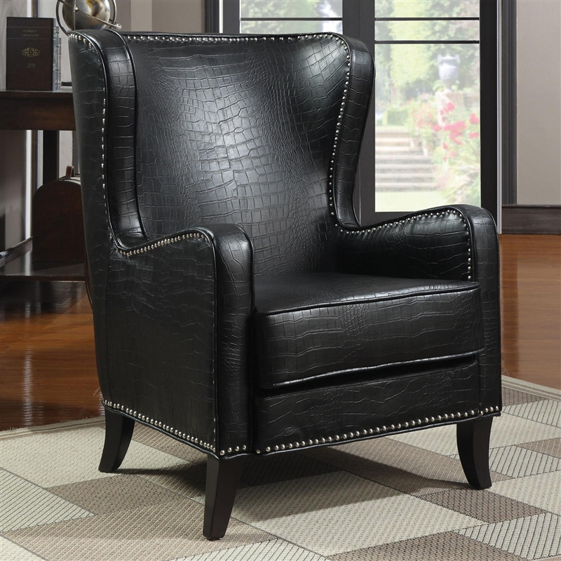 Impressive Black Accent Chair Decoration Ideas
