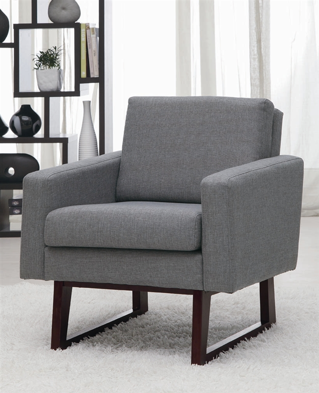 Fantastic Gray Fabric Accent Chair By Coaster 900175 Andrewgaddart Wooden Chair Designs For Living Room Andrewgaddartcom