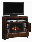 Phoenix Fireplace in Deep Cappuccino Finish by Coaster - 900382