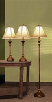 Brown Finish 3 Piece Lamp Combo by Coaster - 901162