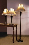 Brown Finish 3 Piece Lamp Combo by Coaster - 901163