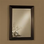 Black Frame Accent Mirror by Coaster - 901702