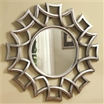 Geometric Starburst Design Accent Mirror by Coaster - 901733