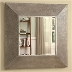 Droplets Design Silver Accent Mirror by Coaster - 901737