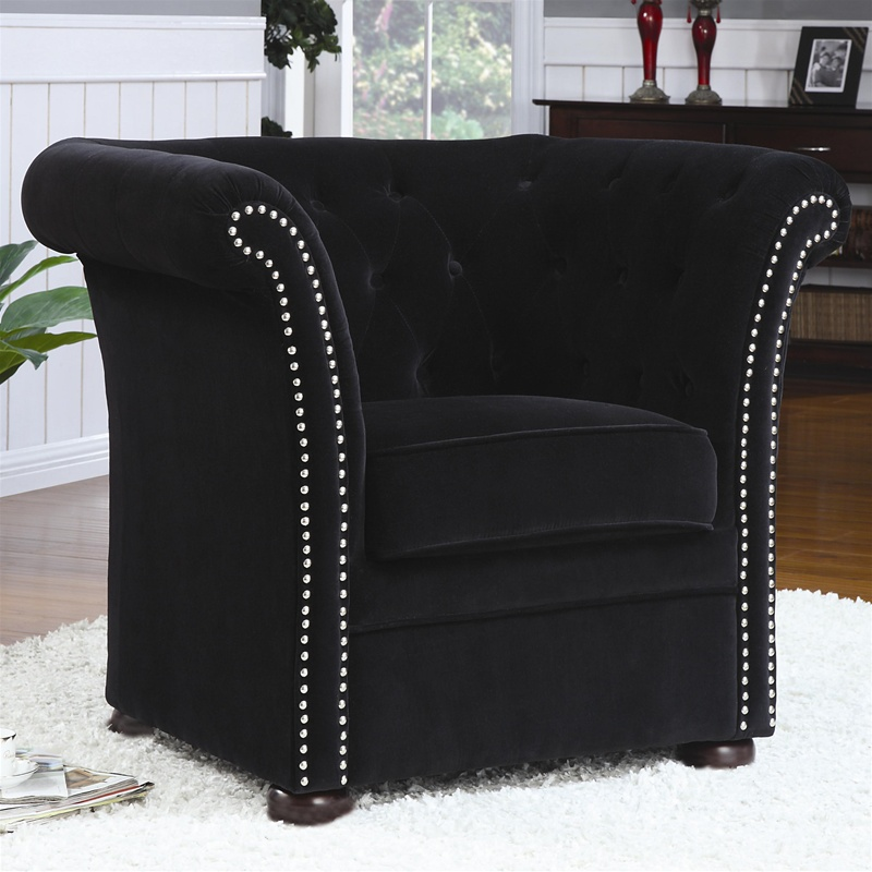 Nice Black Accent Chair Plans Free