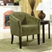 Pistachio Fabric Accent Chair by Coaster - 902042