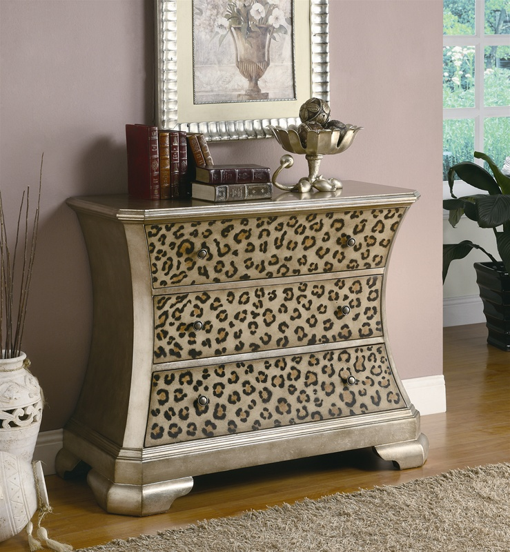 Awe Inspiring Animal Print Accent Cabinet By Coaster 950007 Beatyapartments Chair Design Images Beatyapartmentscom