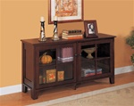 Console Table in Cappuccino Finish by Coaster - 950162