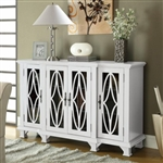 Accent Cabinet in White Finish by Coaster - 950265