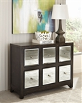 Accent Cabinet in Rustic Brown Finish by Scott Living - 950776