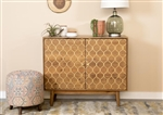 Accent Cabinet in Natural Finish by Coaster - 953390