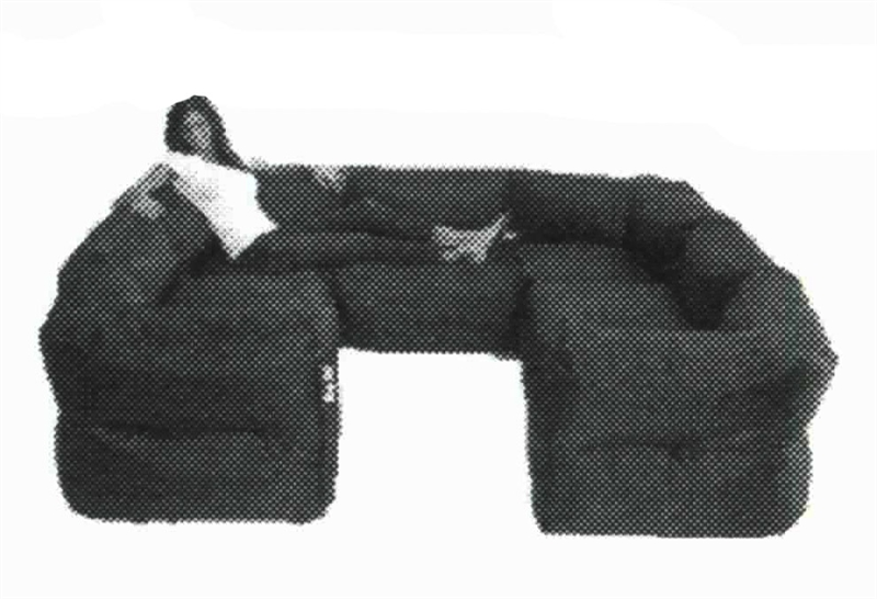 Marvelous Big Joe 7 Piece Zip Modular Sectional By Comfort Research 0649602 07 Pdpeps Interior Chair Design Pdpepsorg