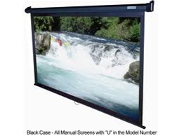 Manual Pull Down Projection Screen 45 X 80