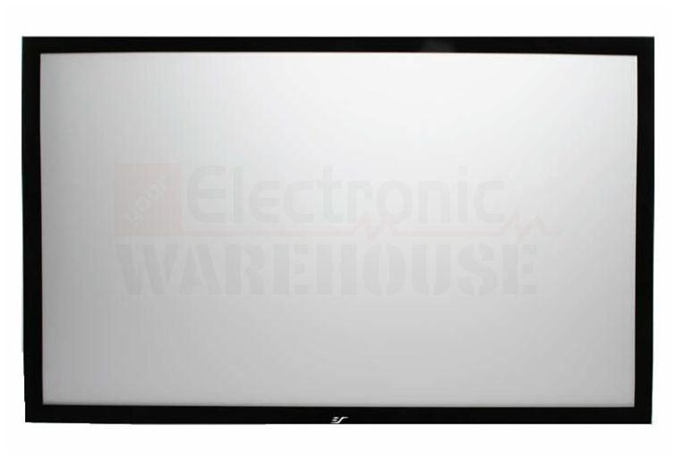 Elite Screens Sable Frame Fixed Frame Projection Screen 49x87 100 Diagonal Hdtv