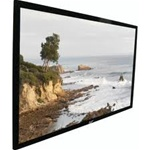 "SableFrame Fixed Frame Projection Screen 45"" x 80"" - Cine White - 92"" Diagonal"