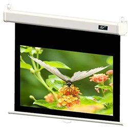 "Manual Projection Screen 61"" x 70"" -White Case- MaxWhite - 84"" Diagonal"