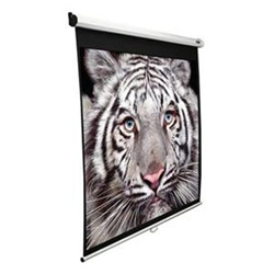 "Manual Projection Screen 60"" x 60"" - Max White - 85"" Diagonal"