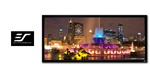 "Ez-Frame R125WH1-WIDE Fixed Frame Projection Screen 49"" x 115"" - CineWhite - 125"" Diagonal"