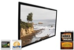 "ezFrame R88WH1 Fixed Frame Projection Screen 42"" x 76"" - Cine White - 88"" Diagonal"