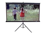 "Tripod Projection Screen 50"" x 50"" -Black Casing- Matte White - 71"" Diagonal"