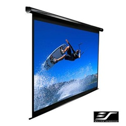 "Vmax Plus2 Series Electric Projection Screen 81"" x 108"" -Black Casing- 135"" Diagonal"