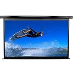 "VMAX2 Series Electric Projection Screen 66"" x 118"" - MaxWhite-Black Casing - 135"" Diagonal"