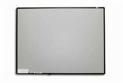 "Whiteboard WB60V Fixed Frame Projection Screen 36.6"" x 47"" - Star Bright - 60"" Diagonal"