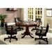 Rowan 5 Piece Game Table Set in Cherry by Furniture of America - FOA-CM-GM339T