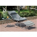 Lili 3 Piece Patio Set in Gray by Furniture of America - FOA-CM-OC2120