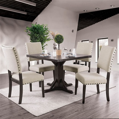 Glenbrook 5 Pieces Dining Table Set by Furniture of America - FOA-CM3018T