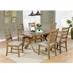 Xochil 7 Piece Dining Room Set by Furniture of America - FOA-CM3171T