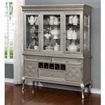 Amina Hutch & Buffet by Furniture of America - FOA-CM3219HB