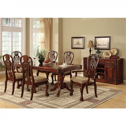 Georgetown 7 Piece Dining Room Set by Furniture of America - FOA-CM3222