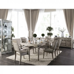 Xandra 7 Piece Dining Table Set by Furniture of America - FOA-CM3239T