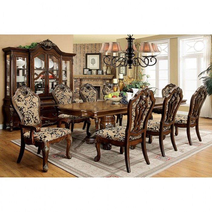 Vicente 7 Piece Formal Dining Room Set by Furniture of America - FOA-CM3243