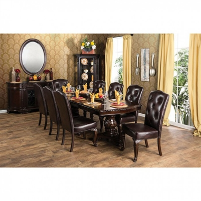 Bellagio 7 Piece Dining Set by Furniture of America - FOA-CM3319
