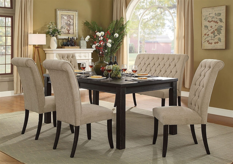 Sania I 6 Piece Dining Room Set With