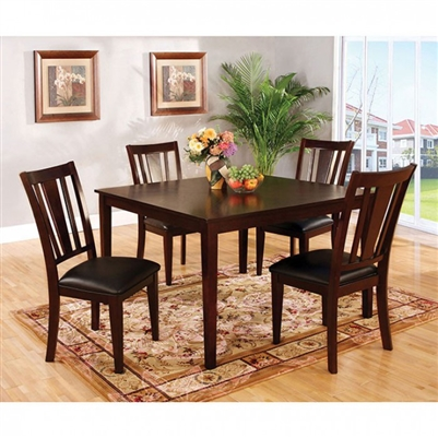 Bridgette I 5 Piece Dining Table Set by Furniture of America - FOA-CM3325T