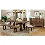 Lidgerwood 7 Piece Dining Room Set by Furniture of America - FOA-CM3358T