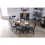 Brixton I 7 Piece Dining Room Set by Furniture of America - FOA-CM3365T