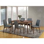 Eindride 7 Piece Dining Room Set by Furniture of America - FOA-CM3371T