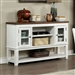 Auletta Server in Distressed White/Distressed Dark Oak Finish by Furniture of America - FOA-CM3417SV