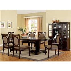 Evelyn 7 Piece Dining Room Set by Furniture of America - FOA-CM3418T