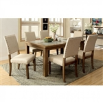 Melston I 7 Piece Dining Room Set by Furniture of America - FOA-CM3531T