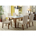 Walsh 7 Piece Dining Room Set by Furniture of America - FOA-CM3535T