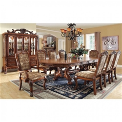 Meve 7 Piece Formal Dining Room Set By Furniture Of America Foa Cm3557